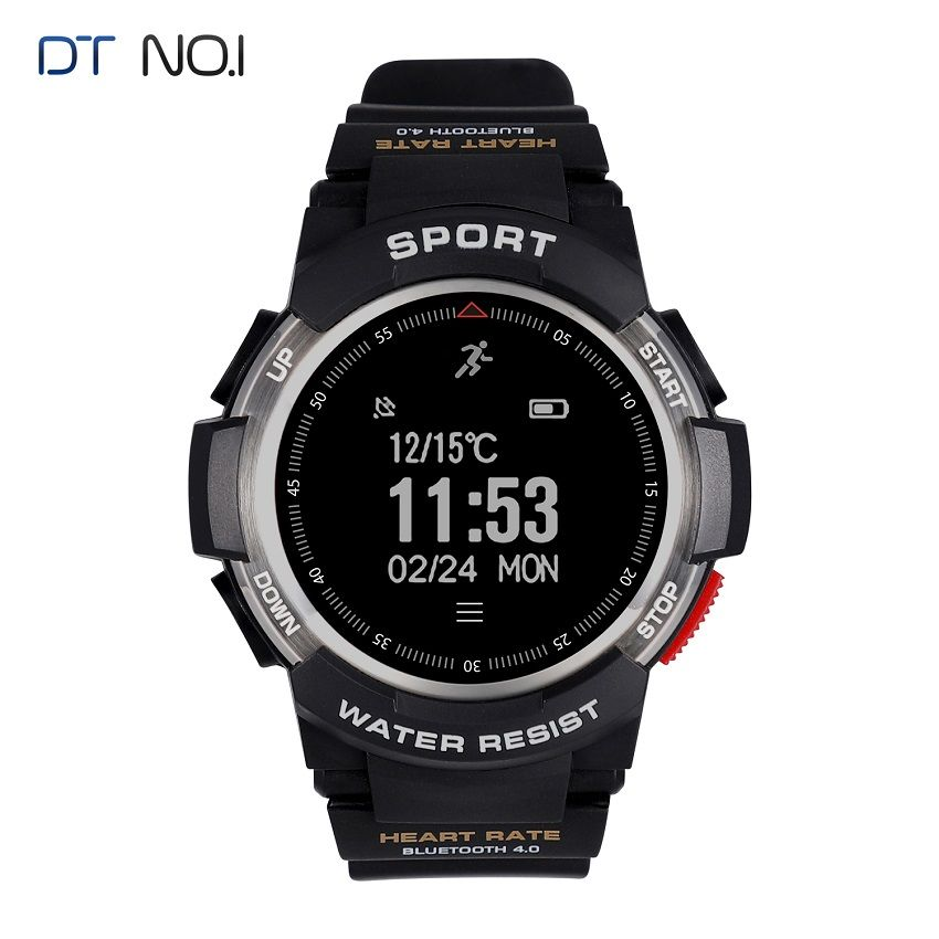 DTNO.1 Sports Smart Watches professional Waterproof Smartwatches GPS Smart Watch Sleep Monitor Wearable Devices for iOS Android