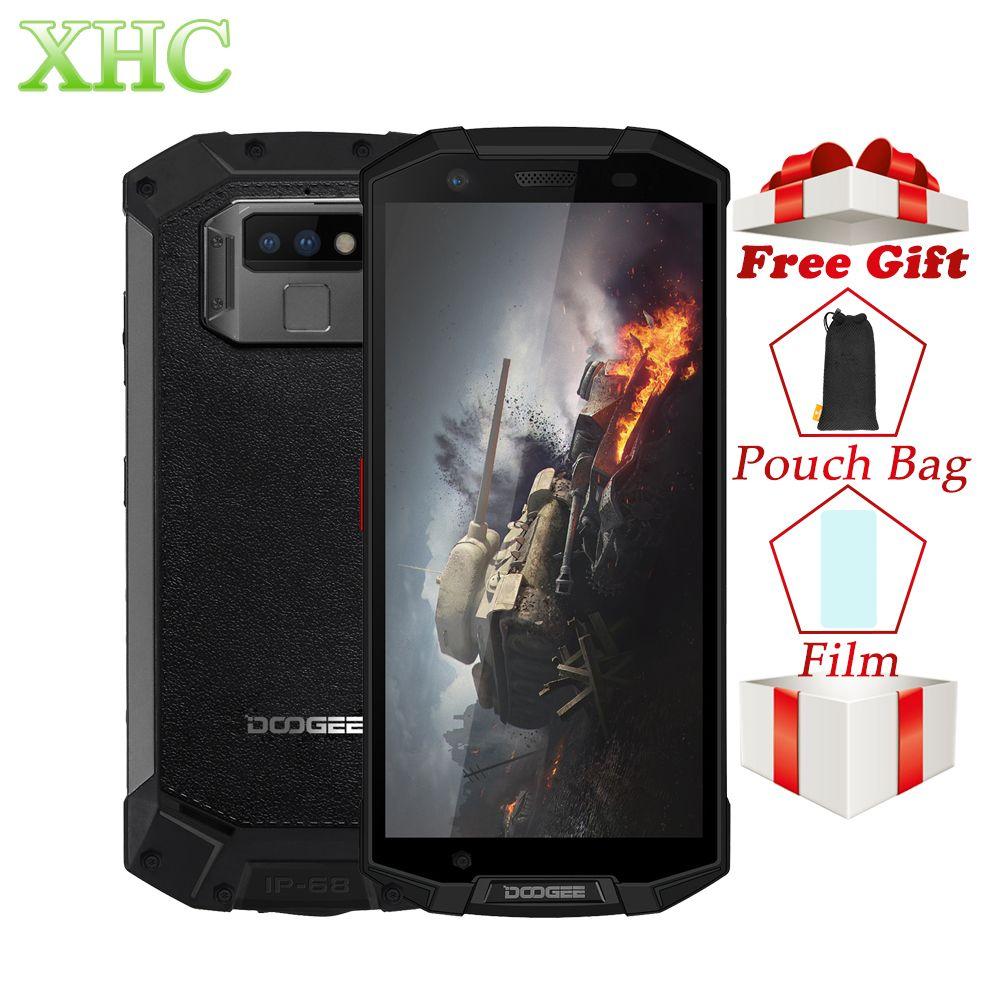 IP68 DOOGEE S70 Lite Robuste Telefon 4 gb + 64 gb Dual Zurück Kameras 13MP Fingerprint ID Smartphone 5,99 zoll octa Core Dual SIM NFC GPS