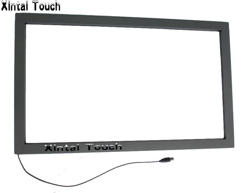 Freies Verschiffen! 6 stücke 43 zoll 10 punkte ir touch rahmen, infrarot touch panel