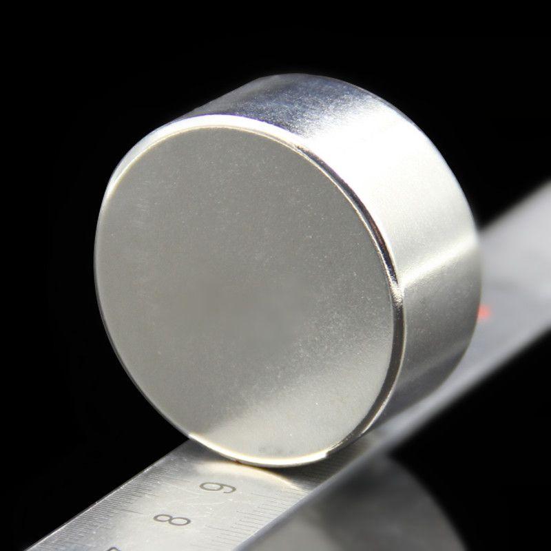 1 pièces forte ronde Dia 40mm x 20mm N35 terre Rare néodyme aimant Art artisanat réfrigérateur 40x20mm