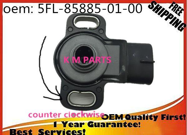 original Japan NEW for Yamaha 2004 2005 FZ6 YZF R1 TPS sensor Throttle Position Sensor 5FL-85885-01-00 5FL-85885-02-00 K-M