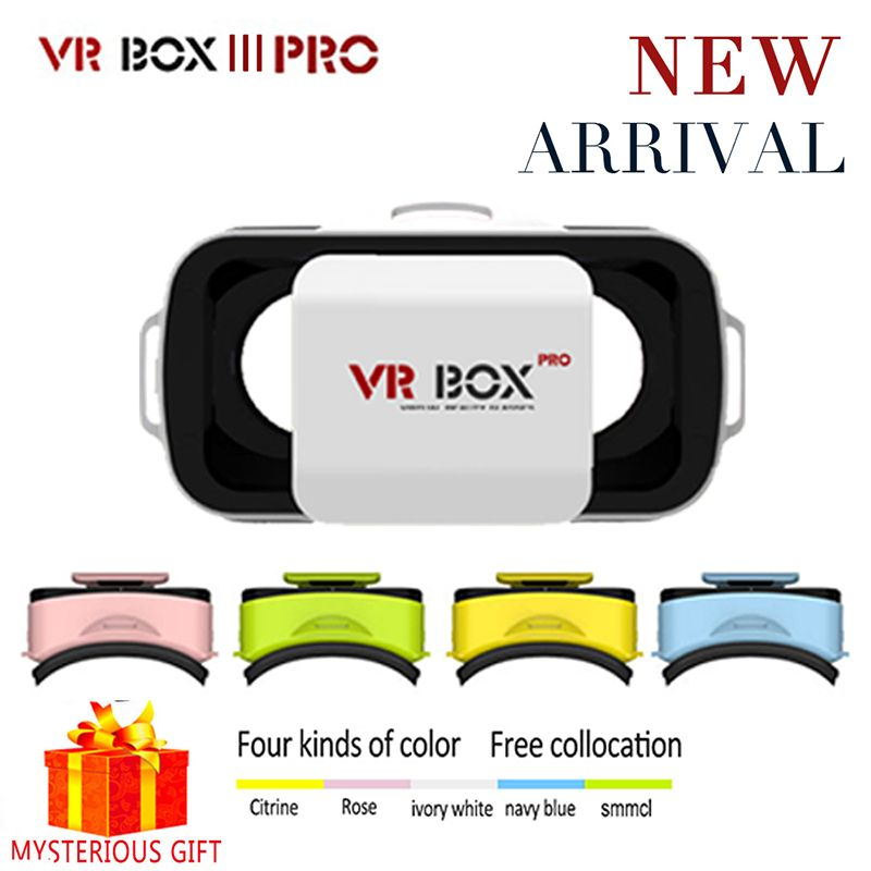 Vrbox VR Box 3.0 3 Pro Google Cardboard Casque Headset Video 3 D 3D Virtual Reality Glasses Goggle Smartphone Helmet Smart Phone
