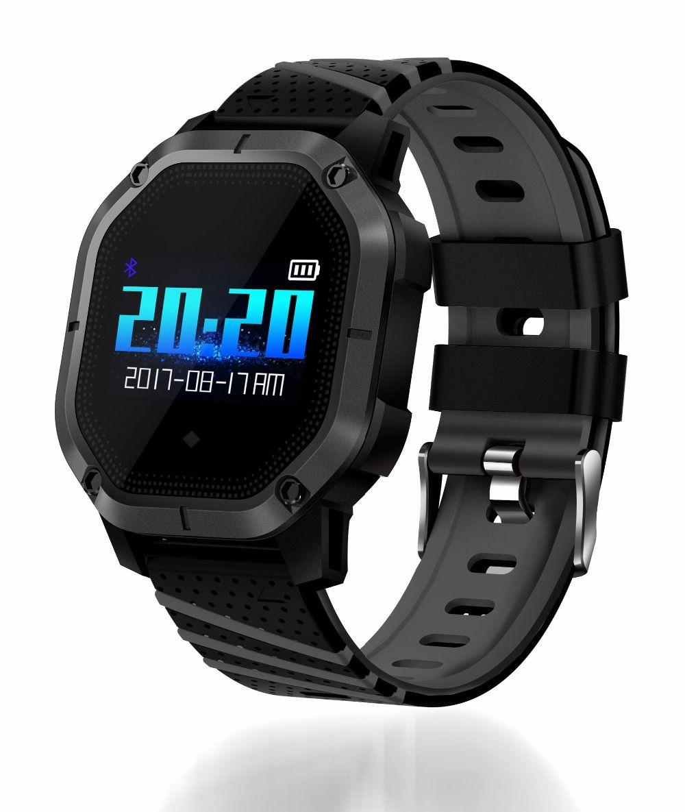 K5 Smart watch IP68 Waterproof Multiple Sports Modes Cycling Swimming Heart Rate Monitor Blood oxygen Blood pressure Clock watch