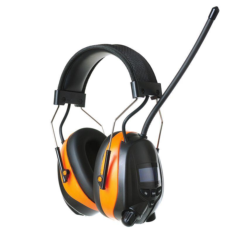 Wiederaufladbare Lithium-Batterie Bluetooth AM/FM Radio Ohrenschützer 25dB Elektronische Rauschunterdrückung Gehörschutz drahtlose Kopfhörer