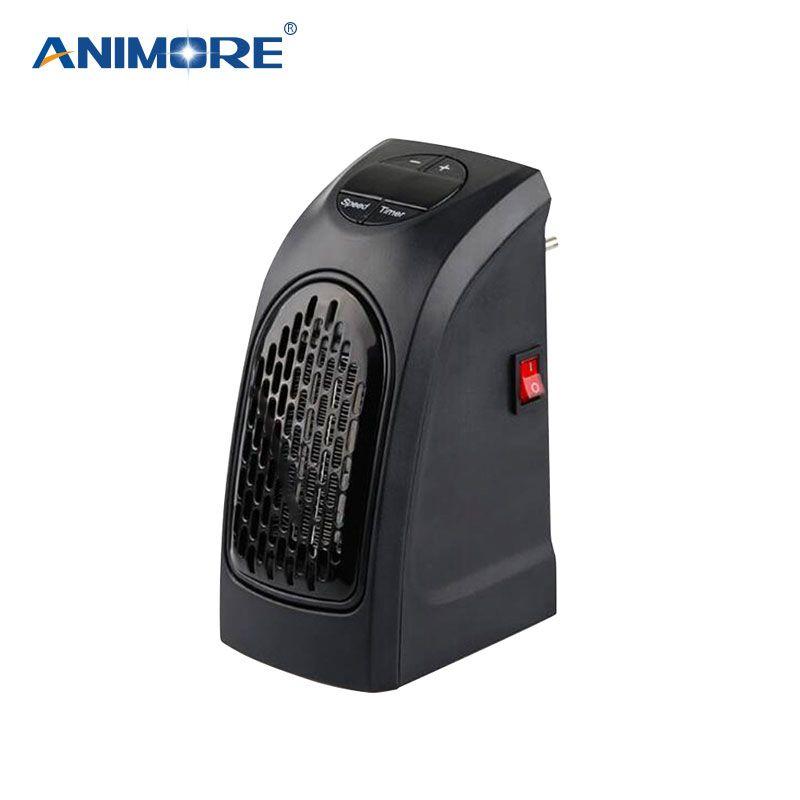 ANIMORE 400 W Forme de Bande Dessinée Mini Ventilateur Chauffage Bureau Ménage Chauffage Électrique Rapide Chauffe Chaud Machine pour L'hiver EH- 01