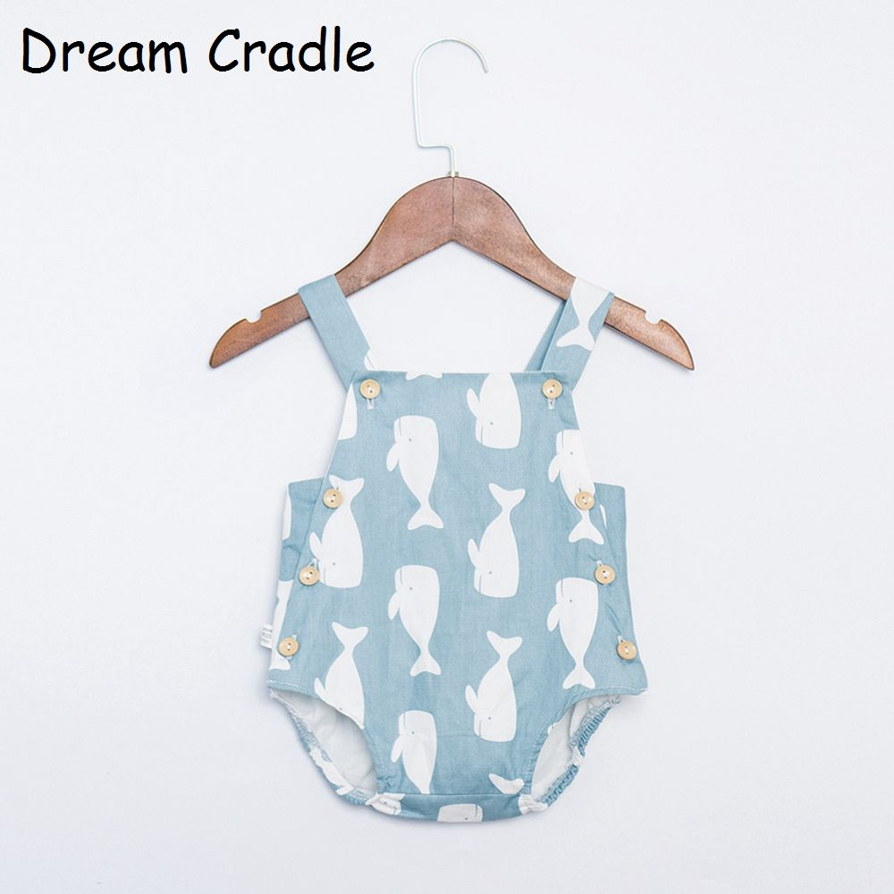 Dream Cradle New Cute Baby Unisex Romper , Baby Boys Summer Romper for Toddler Newborn Baby Cotton Romper Baby Pinafore