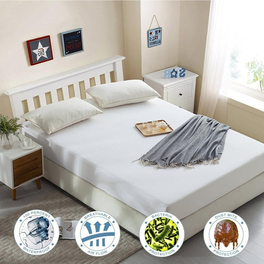 Only For Russian 160X200CM Terry Mattress Covers Fitted Sheet Bed Bug Proof Waterproof Mattress Protector Bed Protection