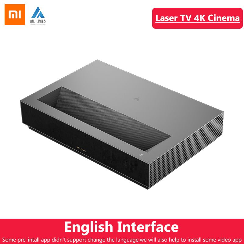 Original Xiaomi Fengmi Laser Projektor TV 4K Kino 150 Zoll 2,4G/5G Wifi Heimkino 2GB 64GB MIUI TV Unterstützung HDR10 Dobby DTS