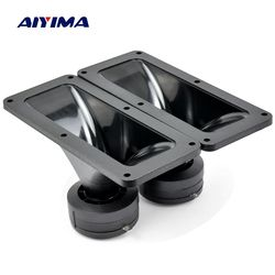 Aiyima 2PC Tweeters 187*80MM Piezoelectric Tweeter Loudspeaker 150W Ceramic Buzzer Treble Square Audio Speaker