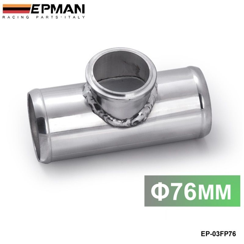 Blow Off Valve / BOV Turbo T-Pip/Piping Adaptor Flange 76mm 3 For Tail 50MM BOV EP-03FP76