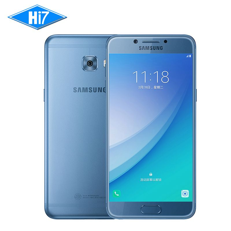New Original Samsung Galaxy C5 Pro 2017 Mobile Phone Qualcomm 4G+64G Fingerprint Octa Core Dual SIM 5.2