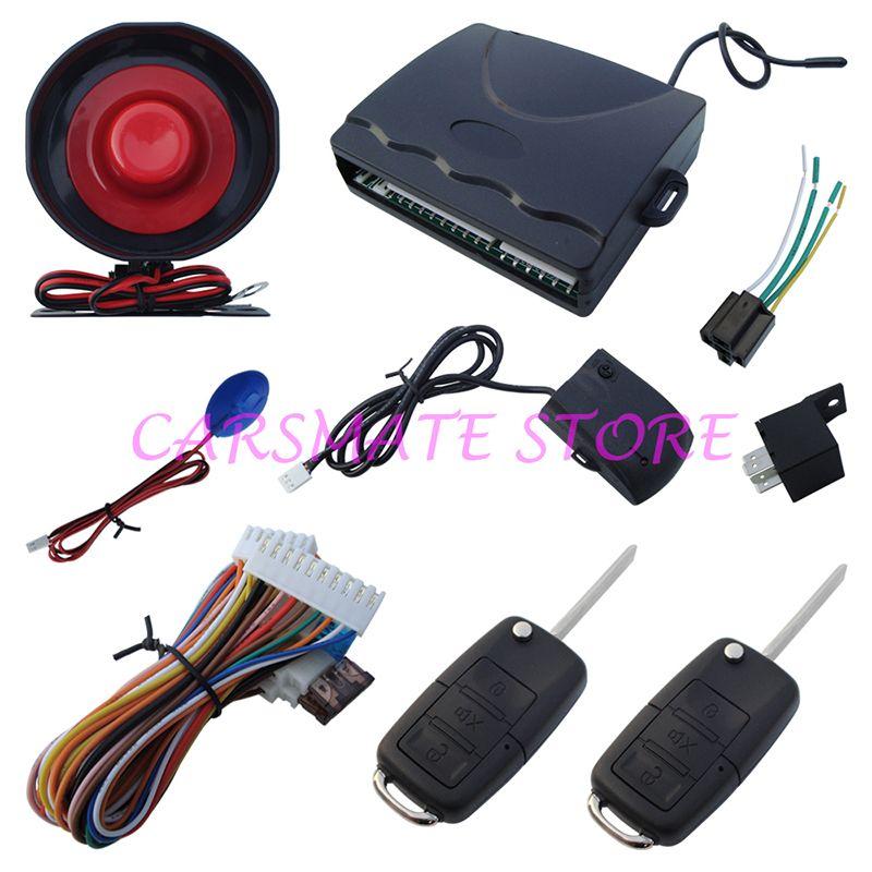 Универсальная модель one way автомобиль сигнализация с дистанционным багажника светодиодный индикатор состояния пункт быстрая доставка в те...