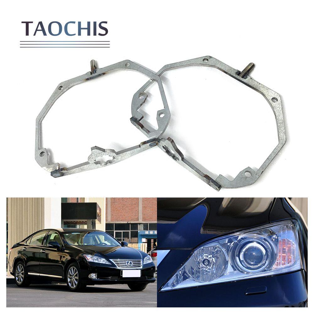 TAOCHIS Car Styling frame adapter Bracket Holder for LEXUS ES350 AFS Hella 3r 5 bi xenon Projector lens HID LED