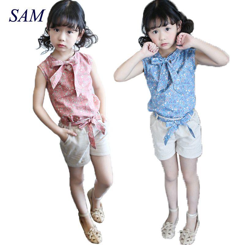 Bébé fille vêtements mode dessin animé filles été ensemble vêtements bébé costumes enfants t-shirt + pantalon enfants vêtements ensemble