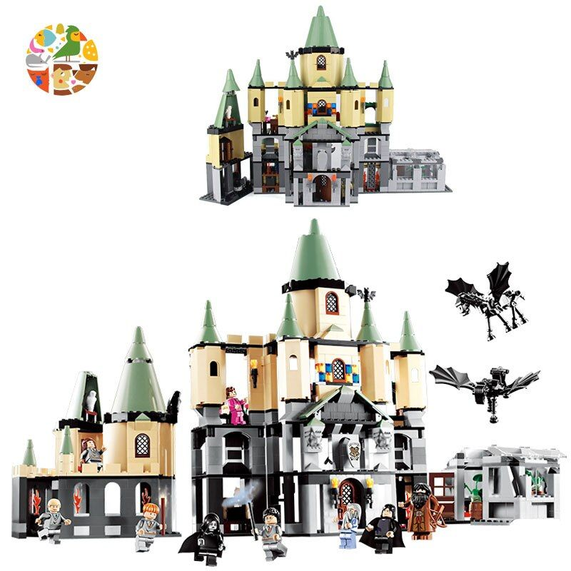 LEPIN 16029 1033pcs Harri Potter Creator HOGWARTS CASTLE Building Blocks Model Bricks Toys For Children Compatible With 5378
