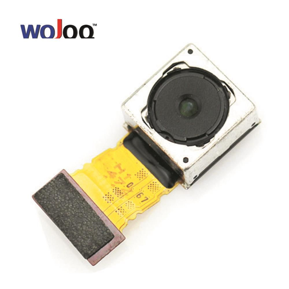 WOJOQ Original Rear Main Camera For Sony Z3 Compact Mini M55W Big Camera Flex Cable Back Camera Replacement Parts Refubishme