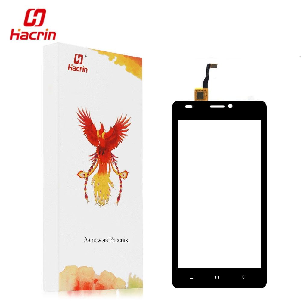 Hacrin Oukitel C3 Touch screen With Free Glue Tools 100% New Digitizer Glass Panel Assembly Replacement For Oukitel C3