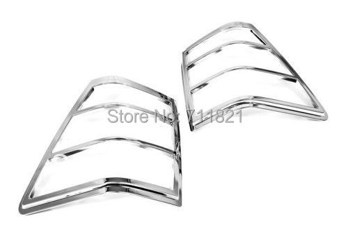 Chrome Tail Light Cover For Jeep Grand Cherokee 2005-2010