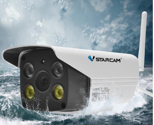 2MP 1080 p HD mit AP Hotspot und RTC, keine Notwendigkeit Extranet Volle-farbe Nachtsicht Im Freien Kugel Kamera C18S