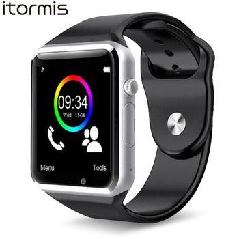 ITORMIS W31 Bluetooth Смарт Умные Часы встроенный телефон Собственная SIM-карта TF-карта Спорт Фитнес Шагомер Мониторинг Сна A1 для Android Samsung Xiaomi Huawei PK DZ09 ...