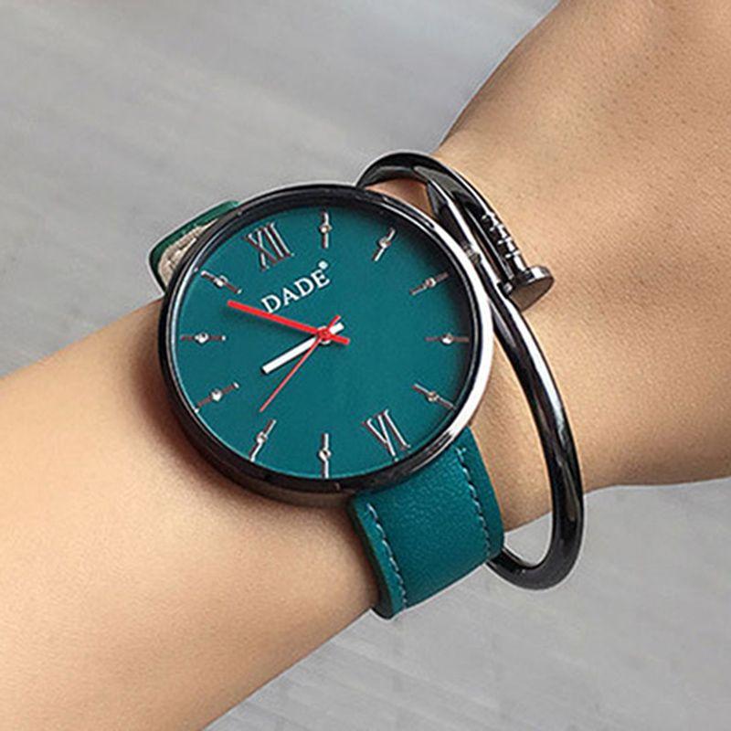 2017 Роскошные брендовые Для женщин Наручные часы Повседневное Модные Дамские кожаные кварцевые часы Montre Femme Mujer Relogio feminino LBY