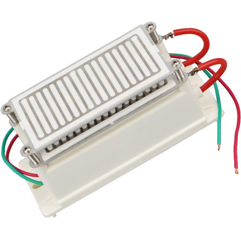 Hohe Qualität Ozon Generator 220 v DIY Kit 20g Ozonator Edelstahl Feuchtigkeits Lange Lebensdauer Sterilisator Ozon Platte