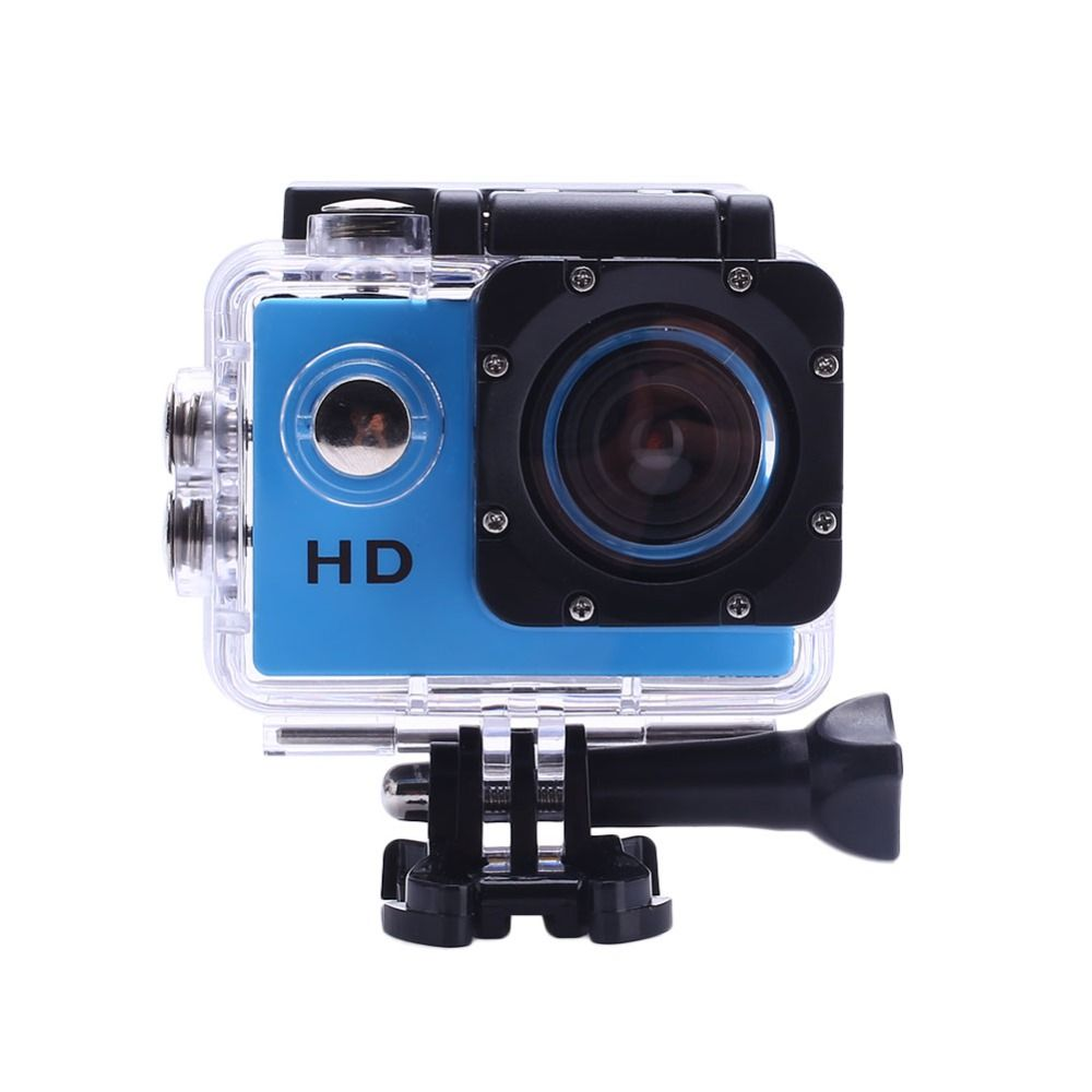 CCewaal 2.0 Inch Action camera HD 4X Zoom 30m Waterproof Helmet Cam camera Swimming Camcorder Climbing Sport Camera 90D