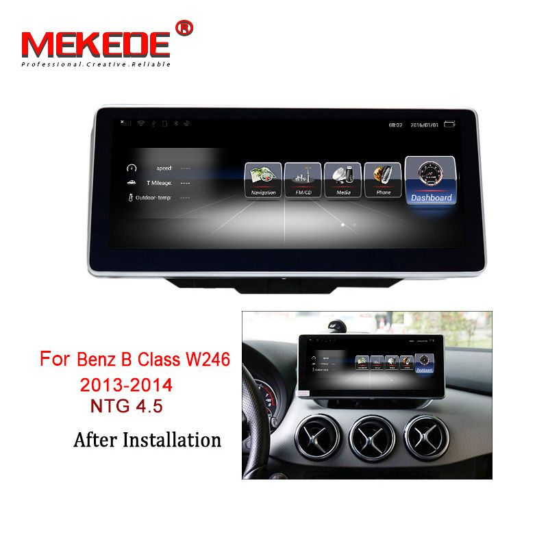 MEKEDE 3G RAM 32G ROM Android 7.1 4G LTE auto multimedia-player für Mercedes Benz B klasse W246 2013-2019 GPS Navigation radio