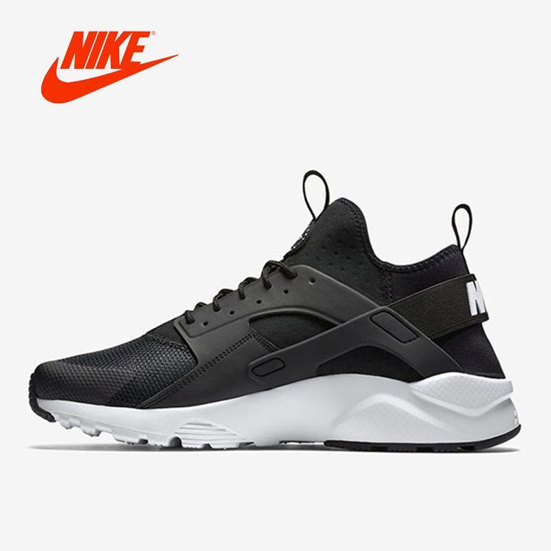 2017 Оригинал Новое поступление Аутентичные Nike Air Huarache амортизацию мужские кроссовки с низким берцем спортивная обувь кроссовки Классически...