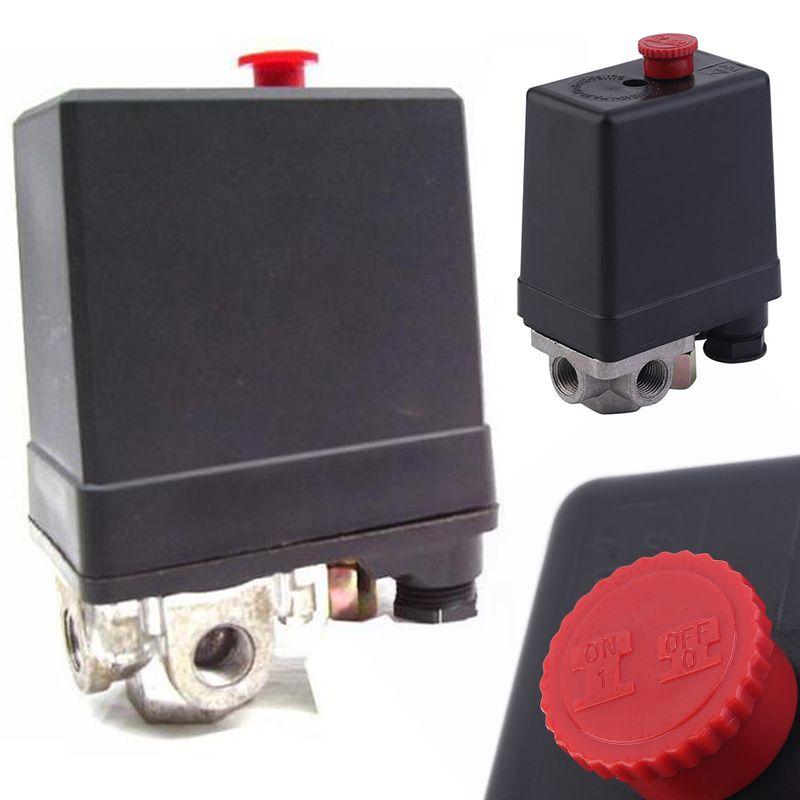 1 Pcs 3-phase 380/400 V Compressor Pressure Switch Heavy Duty Air Compressor Pressure Switch Control Valve Mayitr