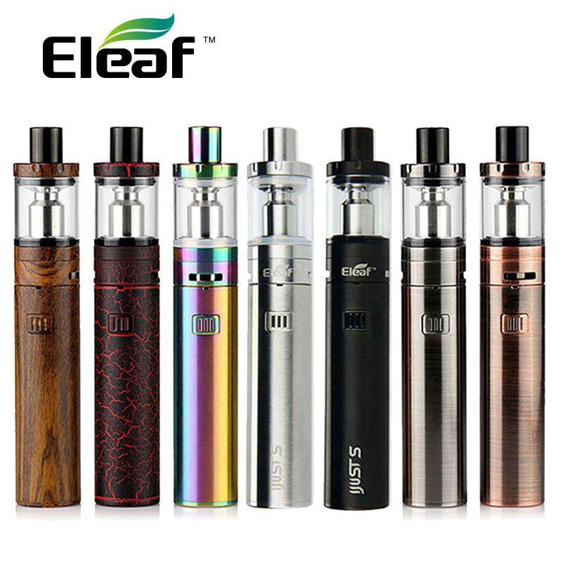 Kit d'origine Eleaf iJust S 3000 mah iJust S batterie 4 ml IJUST S atomiseur de réservoir avec bobine ECL kit de cigarette électronique iJust S batterie