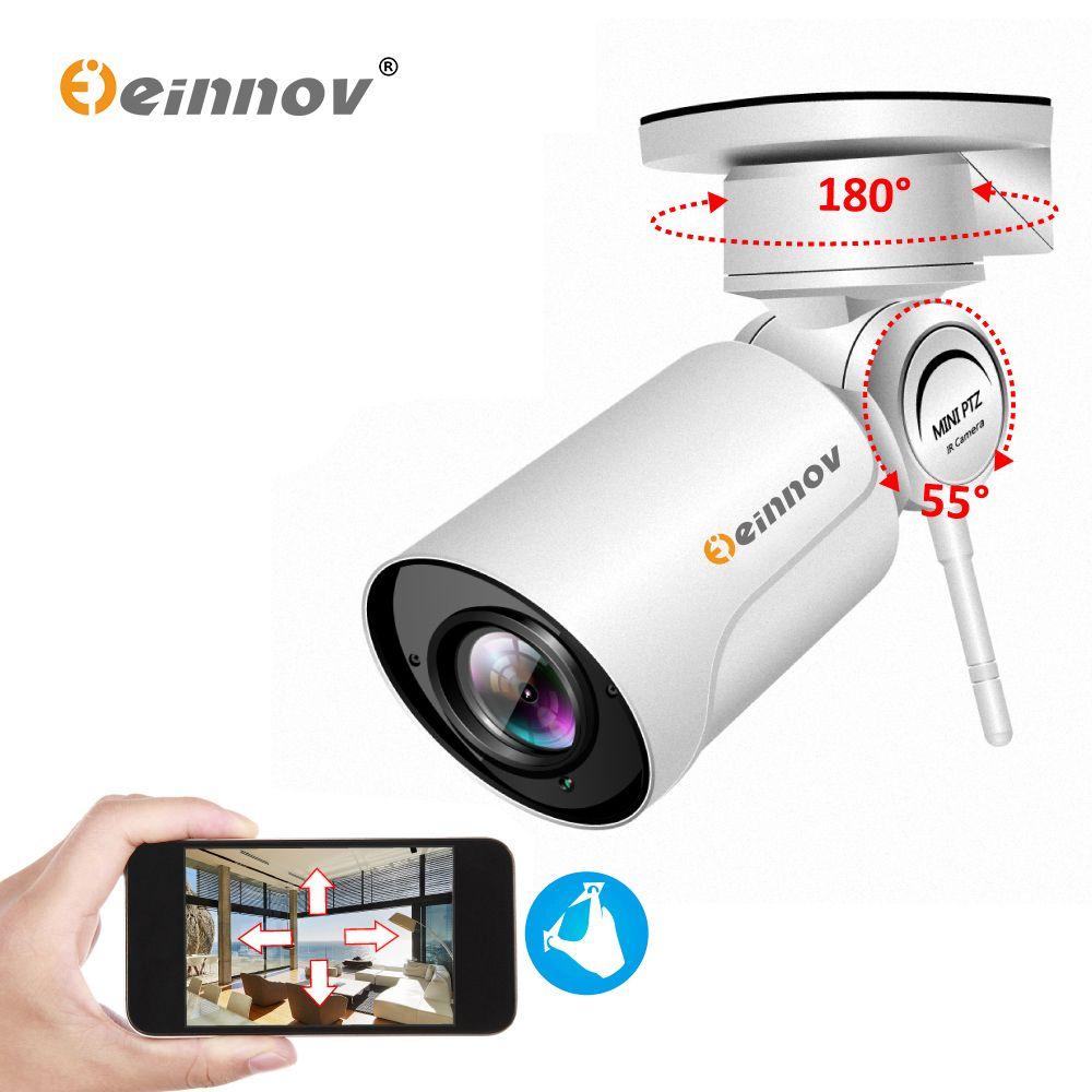 Einnov 1080P PTZ IP Kamera Wifi HD 4XZoom Onvif Wi-fi Mini Outdoor Sicherheit Kamera Video Überwachung IR Wasserdicht nacht Vision