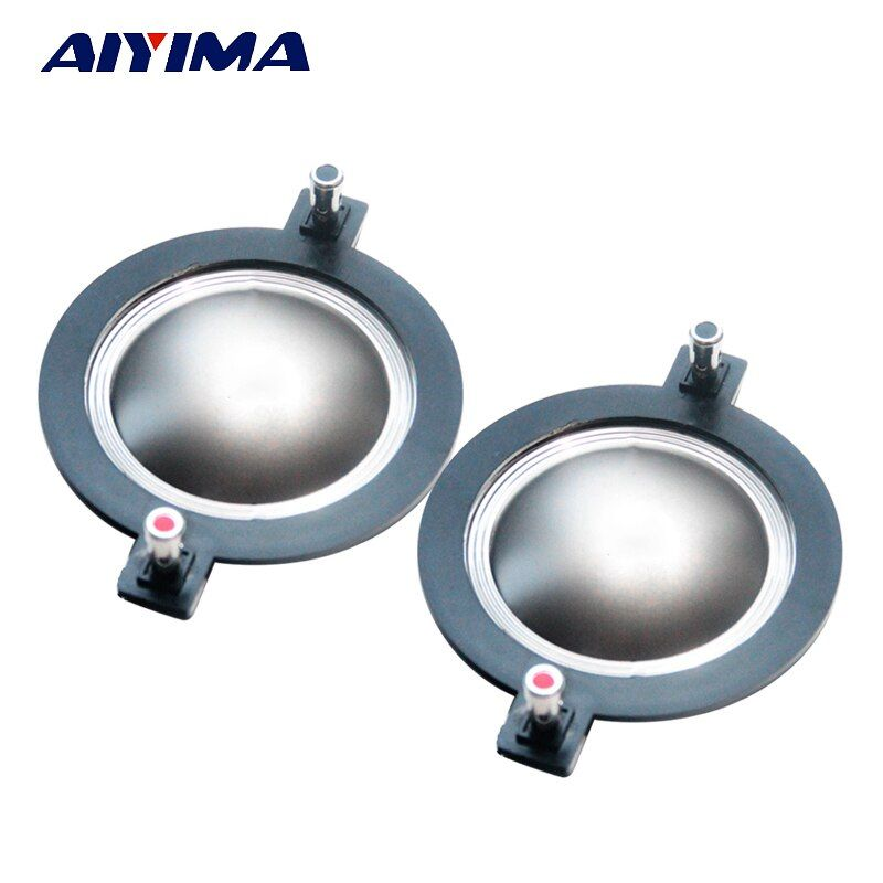 Aiyima 2pcs 72.2 72.5 mm Treble Voice Coil Speakers 72 core Titanium Film Tweeter Ring Voice Diaphragm Speaker Accessories DIY