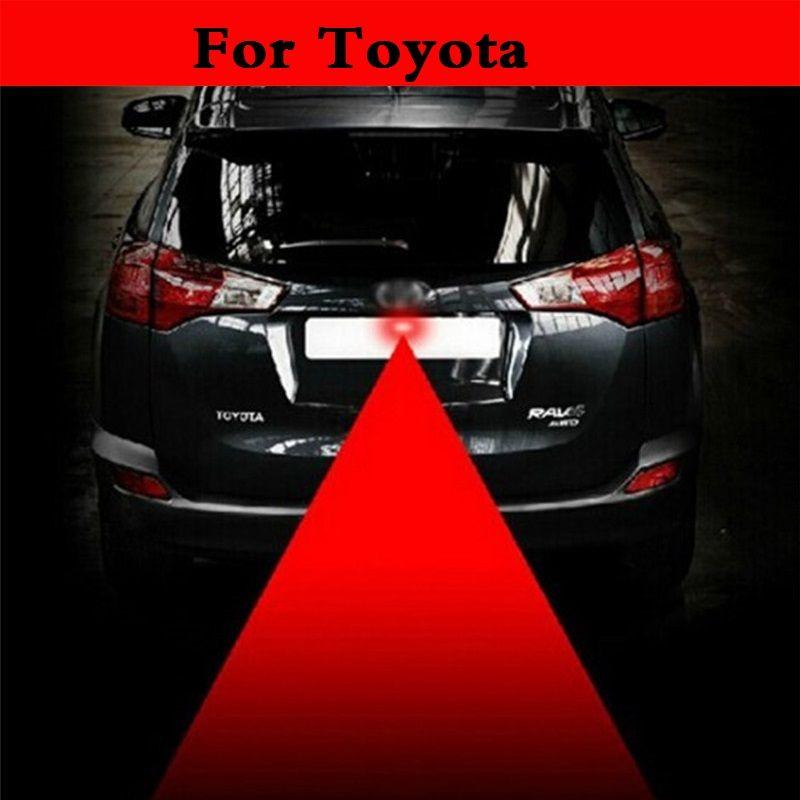 Новый анти столкновения автомобиля лазерной хвост 12 В красный авто Тормозная Парковка лампа для Toyota Camry Solara Celica celsior века corolla fielder