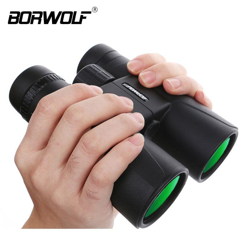 Borwolf 10X42 hoher vergrößerung HD long range zoom jagd teleskop nachtsicht weitwinkel fernglas