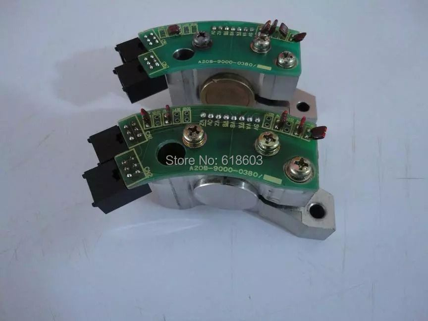 FANUC pulse sensor A20B-9000-0380 for cnc control spare parts spindle motor encoder