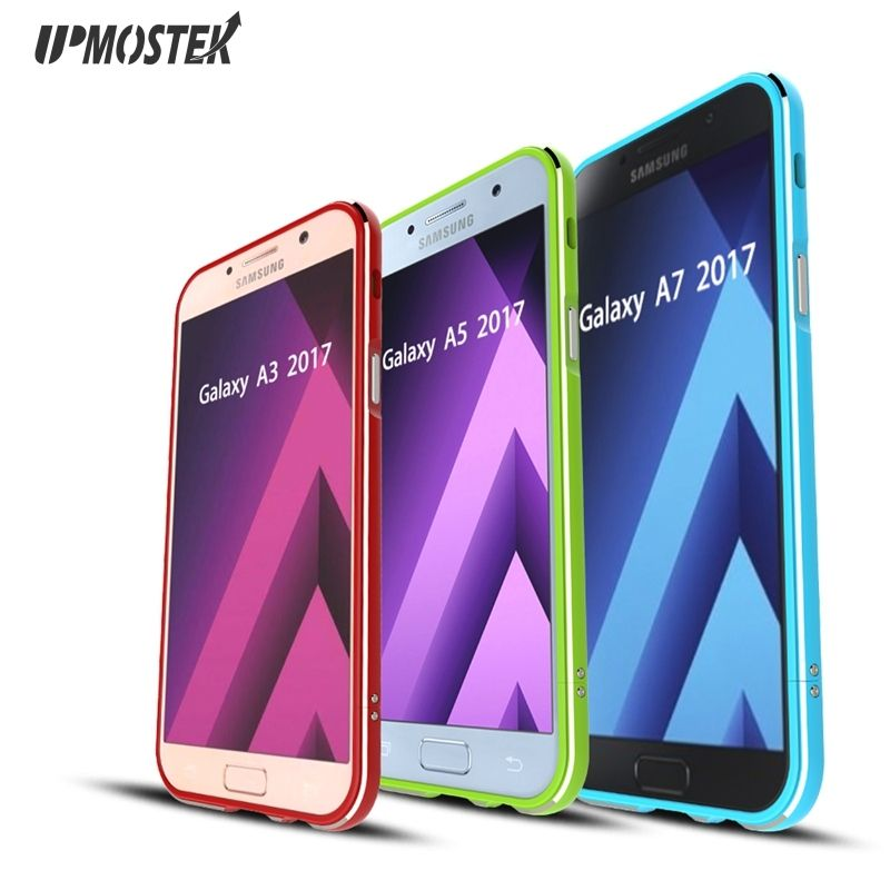 360 degree full protection bumper frame case for samsung galaxy A7 A5 A3 S8 Plus G9500 G9550 aluminum metal borders bumper case