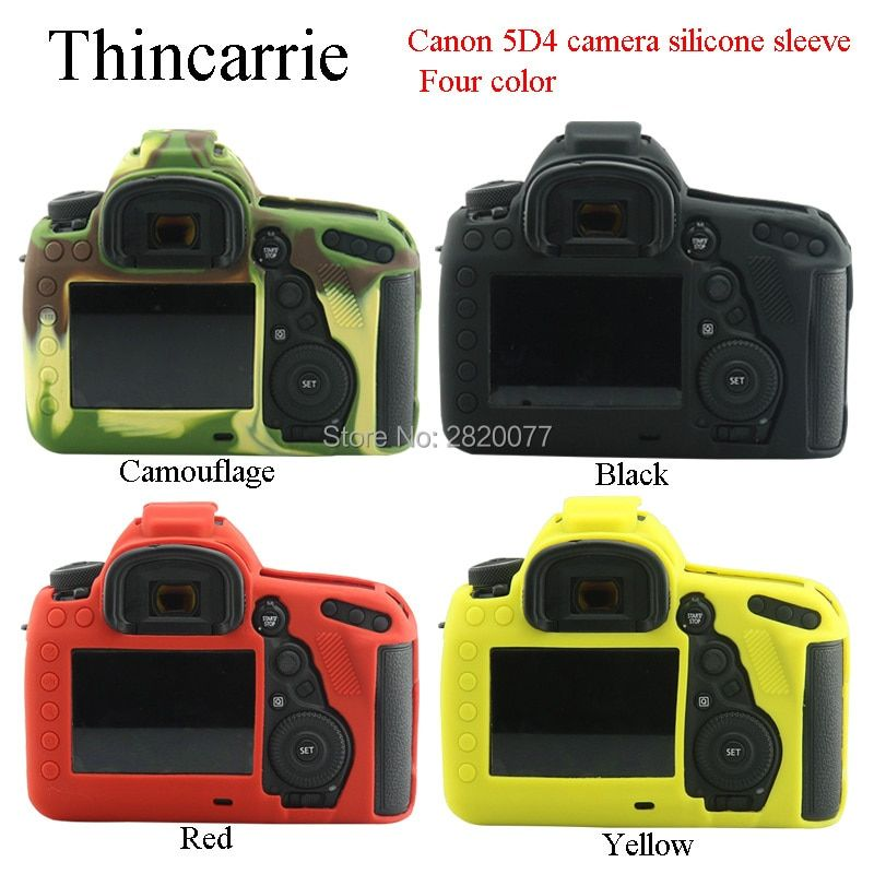 Nice Camera Video Bag For Canon 5D4 5D Mark IV Silicone Case Rubber Camera case for 5D Mark 4 Protective Body Cover Skin