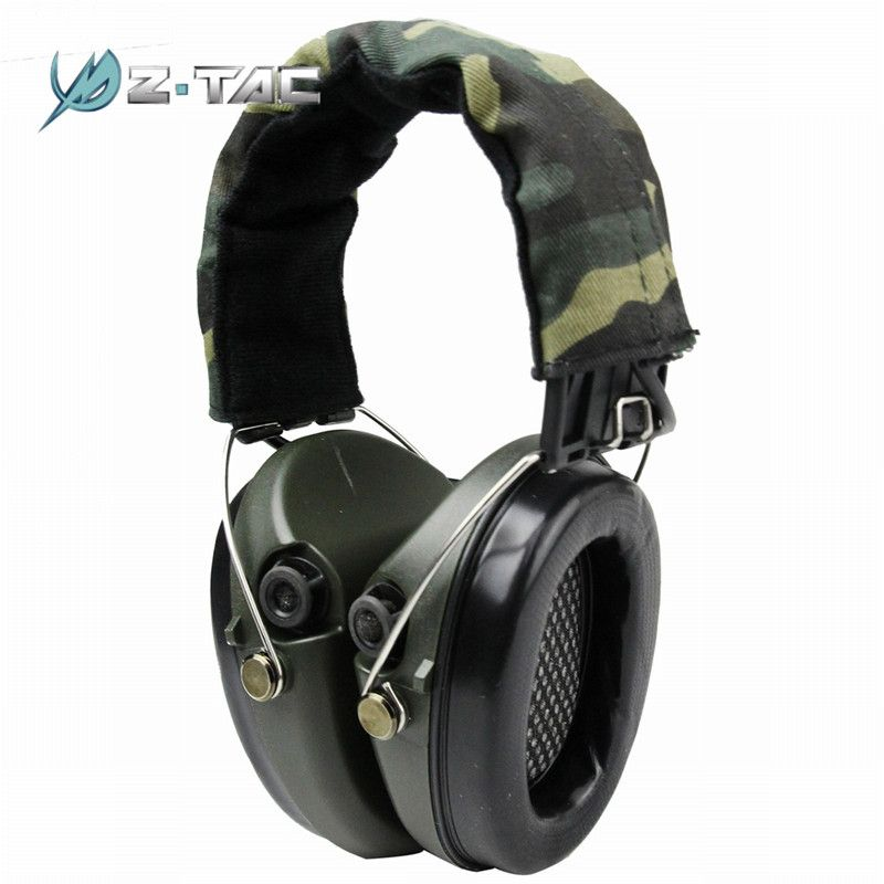 Z-Tactical Noise Reduction Headset Tactical Headsets Shooting Hunting Headset Headphone Ear Cover Accessories