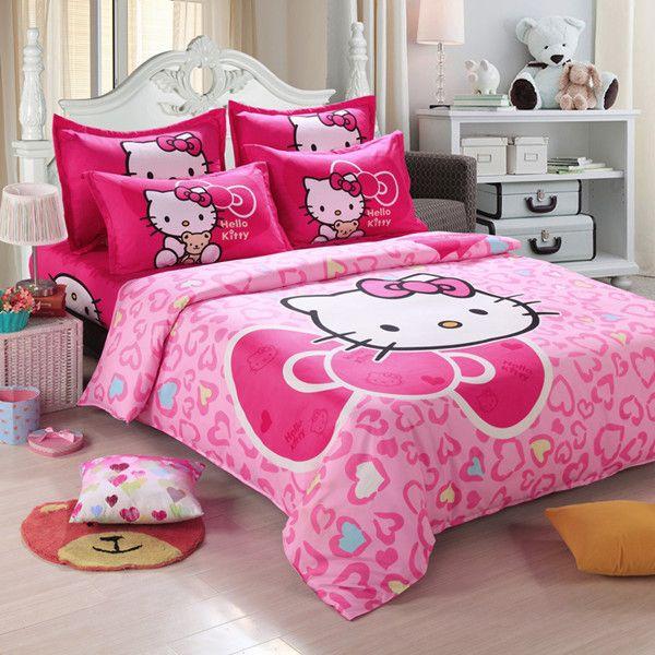 Home textiles Children Cartoon kids bedding set, include duvet cover bed sheet pillowcase
