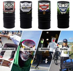 Universal Clown Cycling Motorcycle Neck Tube Ski Scarf Face Mask Balaclava Halloween Party Wholesale