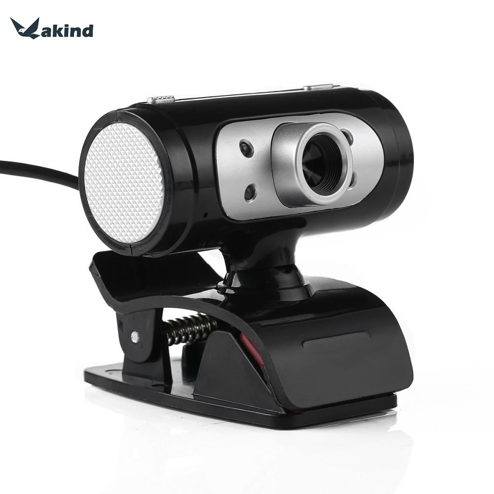 Full HD 1280*720 720 P Pixel 4 Led-nachtlicht Webcam Kamera mit Mic Mikrofon Für Computer PC Laptop