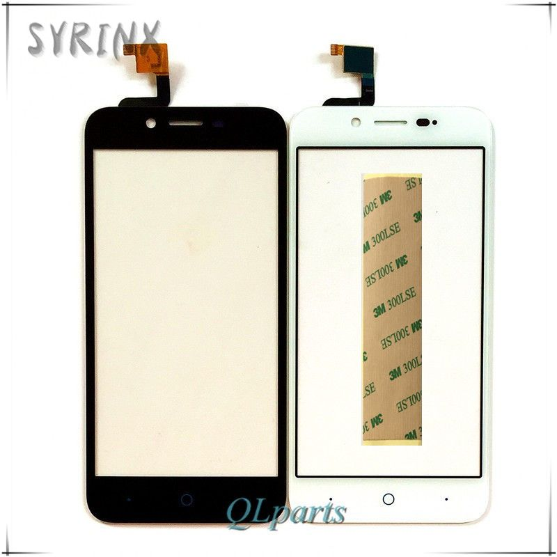 Syrinx 5.0 inch Touch Screen Digitizer For ZTE Blade L4 Touch Panel Glass For ZTE Blade L4 A460 Touchscreen Sensor With Tape