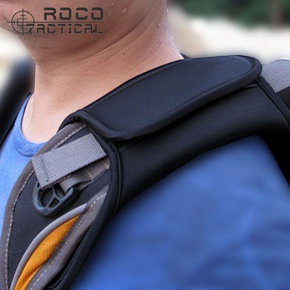 1pc/lot Double Layer Thicken Neoprene SBR Backpack Shoulder Belt Pads for Tactical Backpack Soft Shoulder Strap Pad For Car Belt