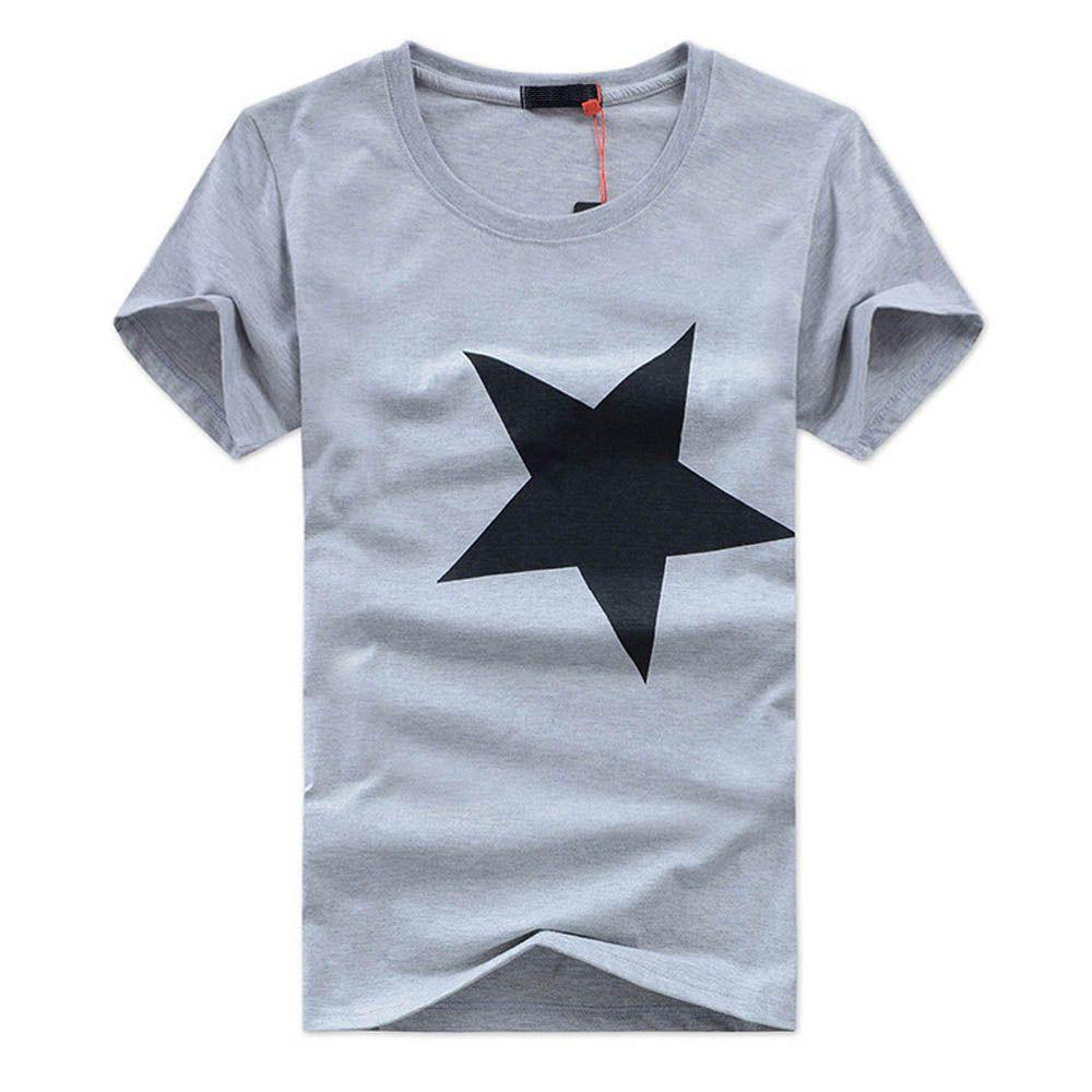 ASALI Brand O-Neck 4 Color T Shir Homme Clothes TON Casual Wear Mens T Shirts Fashion 2018 Mens Tshirts Summer DX-QHX