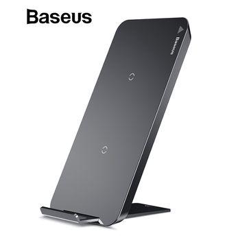 Baseus 10 Вт Быстрый Беспроводной Зарядное устройство для iPhone X 8 samsung S8 S9 S9 + Примечание 8 быстро Qi Беспроводной безопасной зарядки рабочего Подст...