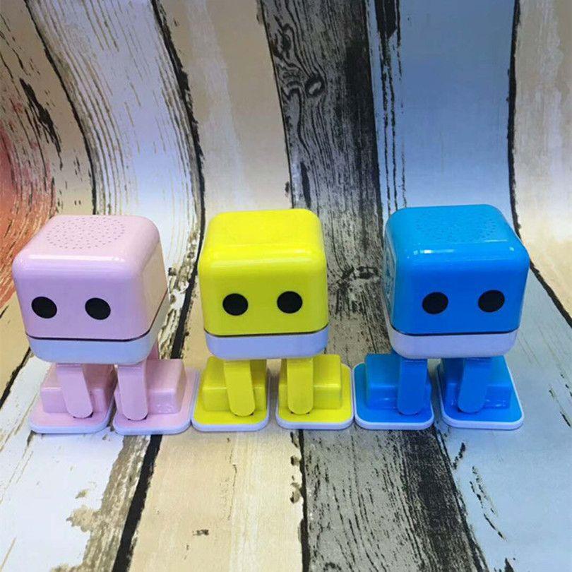 Смарт-танец робот Bluetooth беспроводной динамик Электронный Прогулки игрушки танцы с музыкой подарок для детей и мальчиков