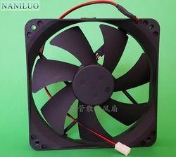 NANILUO Livraison gratuite. 120*120*25mm 12 cm/cm ultra-silencieux alimentation 12 v ventilateur D12SM-12