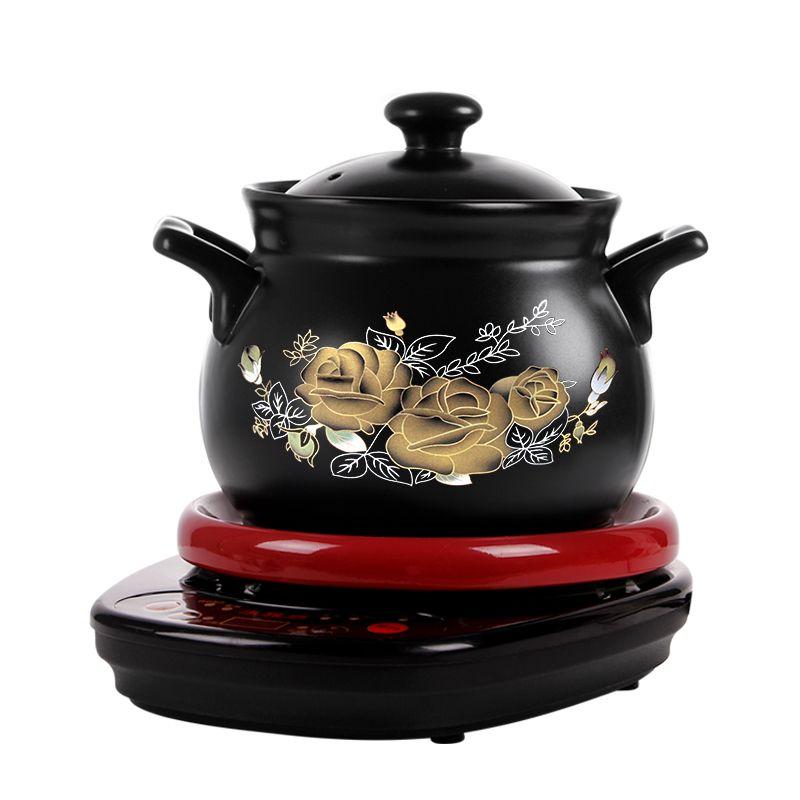 Fully automatic Soup pot Electric cookers 1-5L ceramics Health Electric casserole Porridge Household casserole sous vide cooker