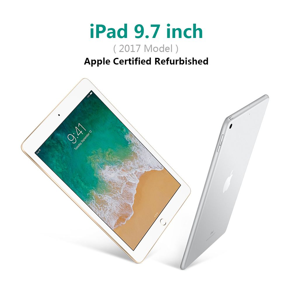 Apple iPad 9.7 inch Wifi Model Tablets PC 32gb/128gb Flash Disk Tablet PC (Apple Certified Refurbished)